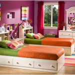 Beautiful Twin Size Bed Frame for Kids