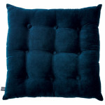 Blue Buttoned Velvet Box Cushion 150x150 Advantages in Having Buttoned Velvet Cushion