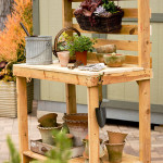 DIY Garden Potting Bench 150x150 The Benefit in Having DIY Garden Work Bench