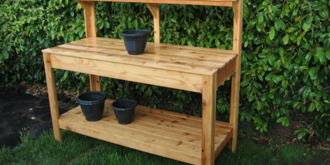 The Benefit in Having DIY Garden Work Bench