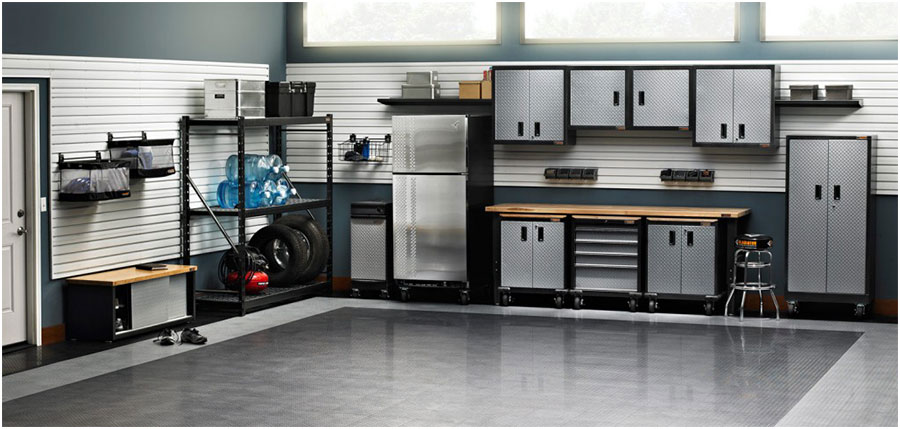 Gladiator Metal Garage Storage Cabinets Get The Durable Metal Garage Storage Cabinets