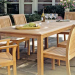 Knowing About The Discount Teak Furniture