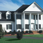 Greek Revival home with Vinyl Siding Institute 150x150 Better To Find The Affordable Vinyl Siding Institute