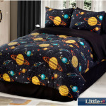 Kids Comforter Sets With Galaxy Glow In The Dark Motif 150x150 The Unique Kids Comforter Sets