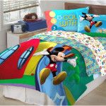 Kids Comforter Sets with Disney Cartoon Motif 150x150 The Unique Kids Comforter Sets