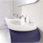 Modern Double Trough Vintage Sink 150x150 Observing The Vintage Sink Designs Option