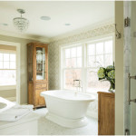 Modern Farmhouse Master Bathroom