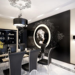 Modern Glamour Interior Design for Dining Room 150x150 Choose The Best Modern Glamour Interior Design