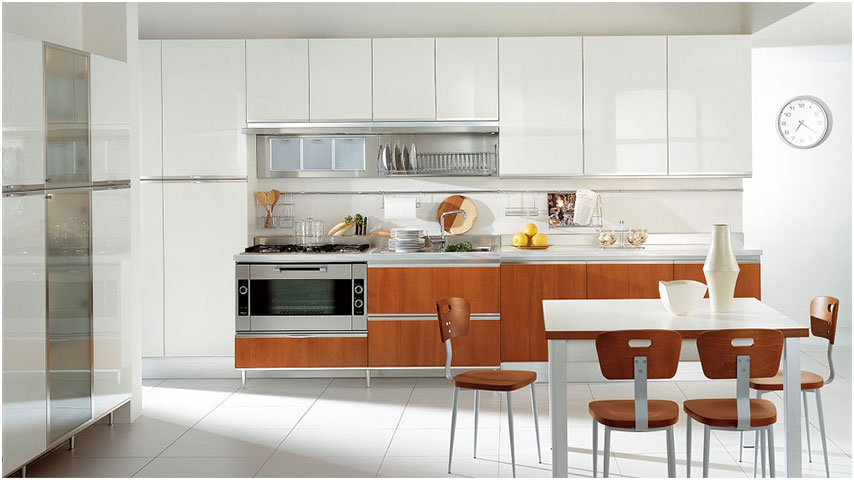 Modern Italian Kitchen Designs with Wooden Cabinet Everything That You Should Know About Modern Italian Kitchen Designs