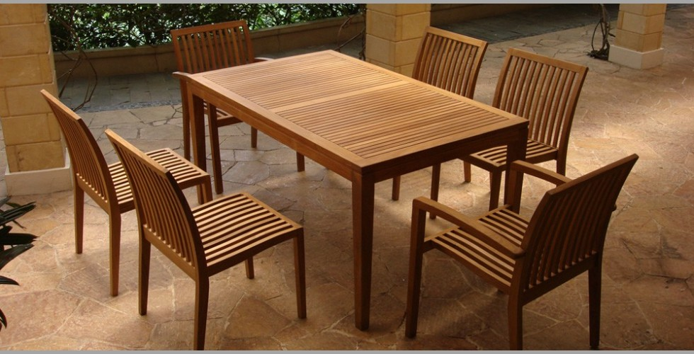 Teak Furniture for Dining Room Knowing About The Discount Teak Furniture