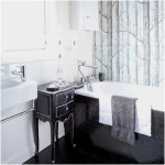 Traditional Black And White Bathrooms Designs