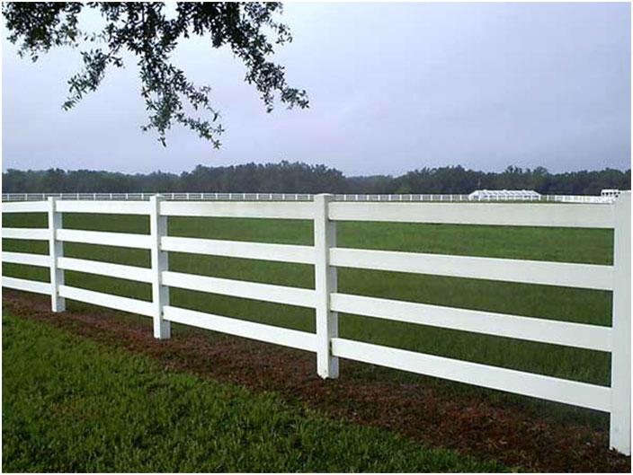 White Split Rail Fence with PVC How to Make Split Rails with PVC