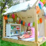 Backyard playhouse for Kids 150x150 How To Make Funny Backyard