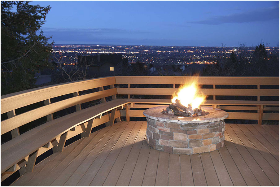 Beautiful Deck Designs With Fire Pit Interior Design Ideas