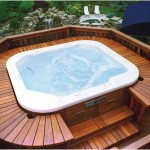 Beautiful Pool Decks Designs with Jacuzzi