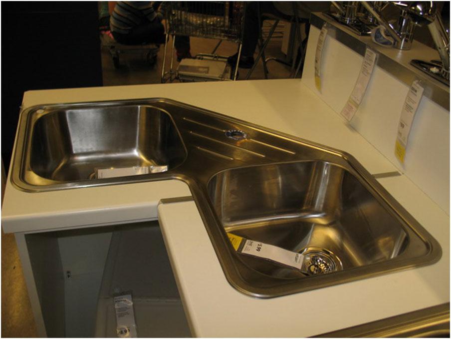 Corner Kitchen Sink Dimensions Elegant Full Size Of