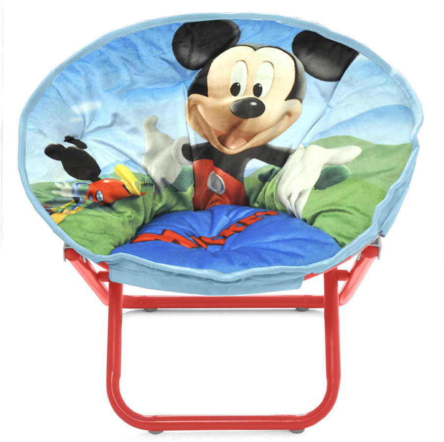 Disney Mickey Mouse Toddler Saucer Chair Design For Kids