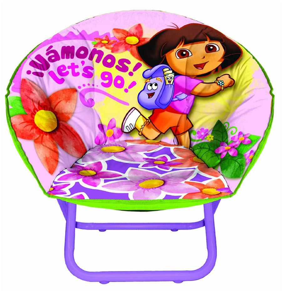 Dora The Explorer Mini Saucer Chair For Kids Interior