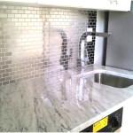 Modern Stainless Steel Kitchen Backsplash Ideas 150x150 Perfect example of Stainless Steel Backsplashes Decoration