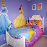 Princess Girls Bedroom Decorating Ideas with Purple Wall 150x150 Get The Best Ideas for Princess Girls Bedroom Decorating