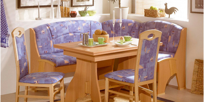 Simple Stylish Corner Kitchen Tables