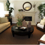 Living Room Design Ideas with Brown Carpet 150x150 The Brown Interiors Drawing Room Idea