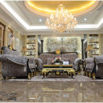 Luxurious Living Room in European Home Design 150x150 The Elegance of European Home Design