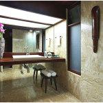 Minimalist Tropical Bathroom Design Ideas 150x150 Tropical Home Design Coziness