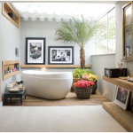 Modern Tropical Bathroom Design Ideas 150x150 Tropical Home Design Coziness