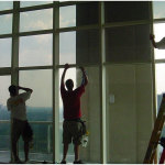 One Way Mirror Window Film Fitting