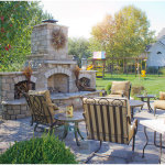 Planned Landscape Design Ideas With Outdoor Pizza Oven