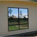 Silver Mirror Window Film Application