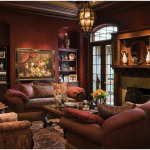 Wonderful Brown Decor For Living Room 150x150 The Brown Interiors Drawing Room Idea