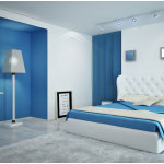 Blue White Bedroom Paint Color Ideas 150x150 The Best Paint Color for Your Bedroom that Suits to Your Preference