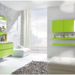 Charming Bathroom Ideas With Green Furniture 150x150 Charming Bathroom Ideas for Your Modern House