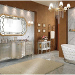 Charming Bathroom With Traditional Furniture 150x150 Charming Bathroom Ideas for Your Modern House
