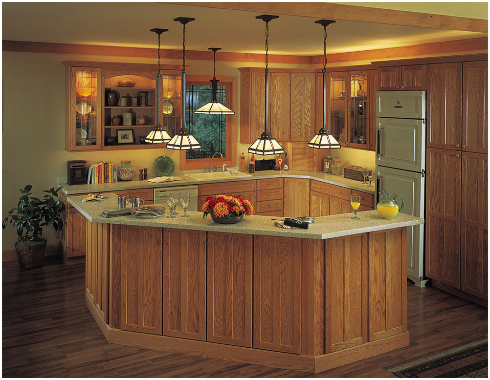 Combining Traditional And Modern Kitchen Furniture Interior Design