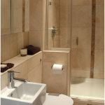 Cozy Small Bathroom Design 150x150 Designing a Small Space Area with a Cozy Decoration