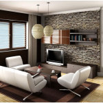 Cozy Small Space Living Room Design