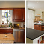 Kitchen Makeover Ideas Before And After 150x150 Makeover Ideas for Your Lovely Kitchen