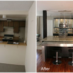 Modern Kitchen Makeover Ideas Before And After 150x150 Makeover Ideas for Your Lovely Kitchen