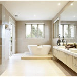 Perfect Bathroom With Large Tiles 150x150 A Perfect Bathroom To Help You Relieve Your Stress