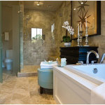 Perfect Master Bathroom Ideas With Porcelain Floor 150x150 A Perfect Bathroom To Help You Relieve Your Stress