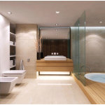 Perfect Modern Master Bathroom Ideas 150x150 A Perfect Bathroom To Help You Relieve Your Stress