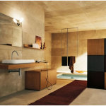 Perfect Modern Warm Bathroom Design 150x150 A Perfect Bathroom To Help You Relieve Your Stress