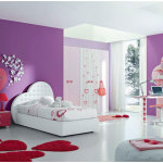 Purple Teen Bedroom Paint Colors Design