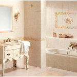 Romantic Bathroom Decoration with Traditional Sink Cabinet 150x150 Best Design Ideas for your Home Décor with Traditional and Modern Furniture