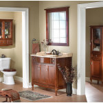 Traditional Wood Bathroom Cabinets and Furniture 150x150 Selecting the Best Furniture for Your Bathroom