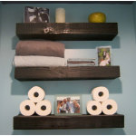 Wood Bathroom Floating Shelves 150x150 Selecting the Best Furniture for Your Bathroom