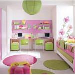 Lovely Bedroom Pink Decorating for Kids